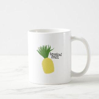 Fruta tropical tazas