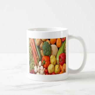 FRUTA Y VERDURAS TAZA DE CAFÉ