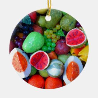 Frutas Ornamentos De Navidad
