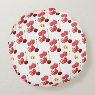 Frutas Cojín Redondo