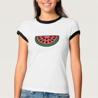 Frutas de la sandía del campanero del alcohol camisas