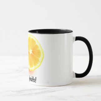 ¡Frutas de los bons de Les! taza