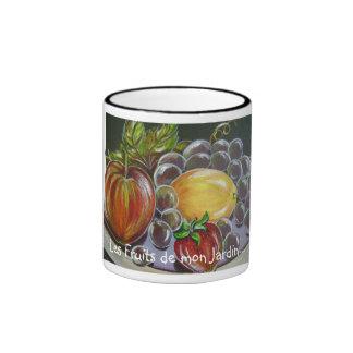 Frutas de mi taza del jardín