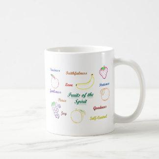 Frutas del alcohol tazas de café
