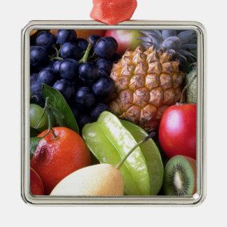 Frutas exóticas adorno