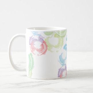 Frutas frescas taza de café