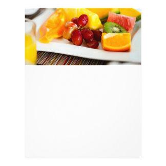 Frutas frescas y bayas folleto 21,6 x 28 cm