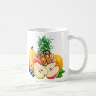 Frutas mezcladas taza