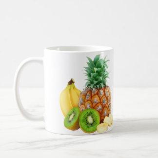 Frutas tropicales taza clásica