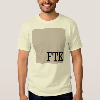 FTK CAMISETAS