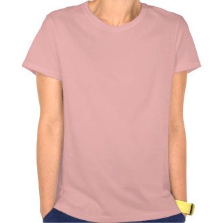 Fucsia floreciente camisetas