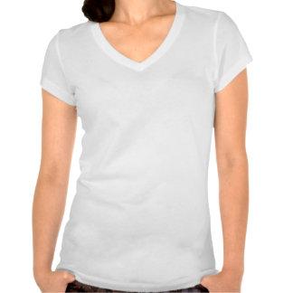 """""""Fudsy hace frente"""" - al Mujer-V-Cuello, su regalo Camiseta"""