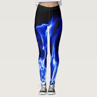 Fuego azul legging