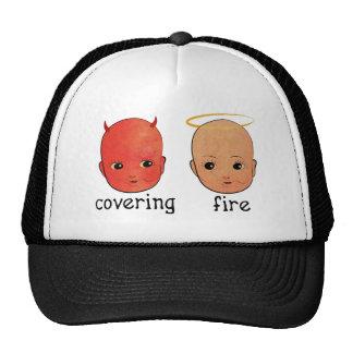 Fuego de cubierta - pecador y santo gorras de camionero