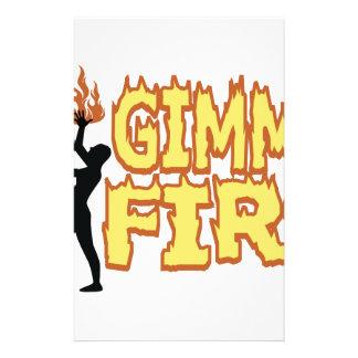 Fuego de Gimme Papeleria De Diseño