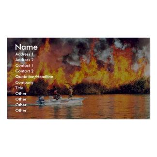 fuego de r2-az-imr-prescribed encendido por el bar tarjetas de negocios