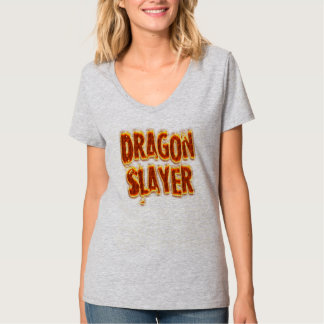 Fuego del asesino del dragón camiseta