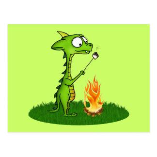 Fuego del dragón postal