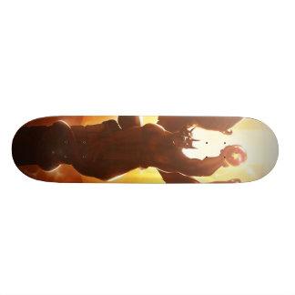 Fuego Skatedeck del guarda Monopatín 21,1 Cm