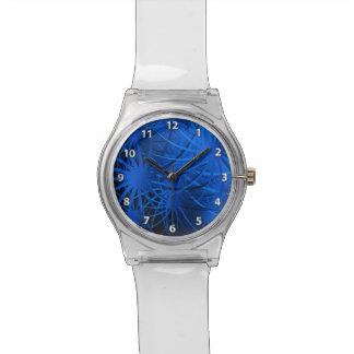 Fuegos artificiales reloj de pulsera