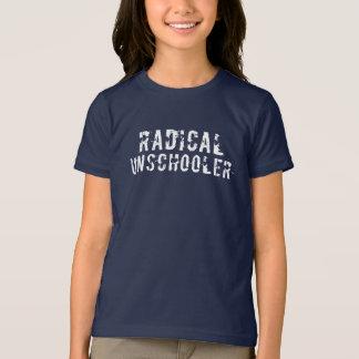 Fuente apenada Unschooler radical Camiseta