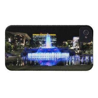 Fuente azul iPhone 4 carcasa