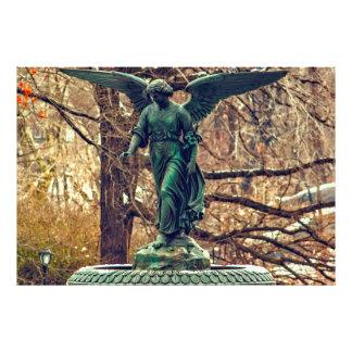 Fuente de Bethesda en foto del Central Park