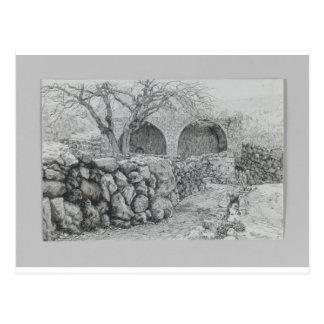 Fuente de la Virgen en Karim Ain de James Tisso Postal