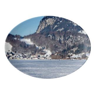 Fuente De Porcelana El valle de Joux en el cantón de Vaud