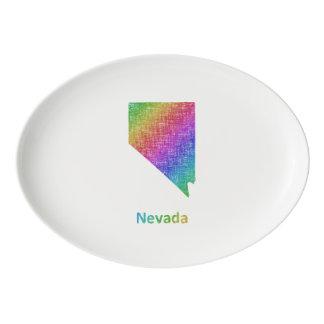 Fuente De Porcelana Nevada