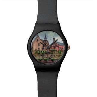 Fuente de Santo-León en Eguisheim, Alsacia, Reloj De Pulsera