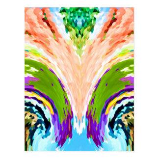 Fuente del arco iris de la juventud V1 - Postal
