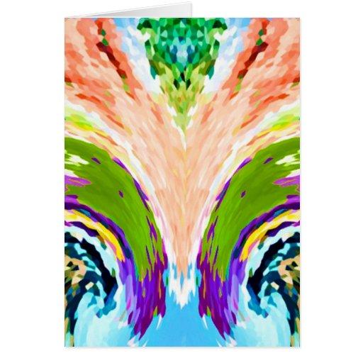 Fuente del arco iris de la juventud V1 - Tarjetas