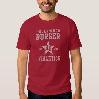 Fuente del gris del atletismo de la estrella de la camisetas