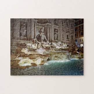 Fuente del Trevi - rompecabezas de Roma, Italia