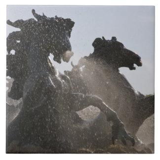Fuente, DES Girondins, Burdeos del monumento, Azulejo Cuadrado Grande