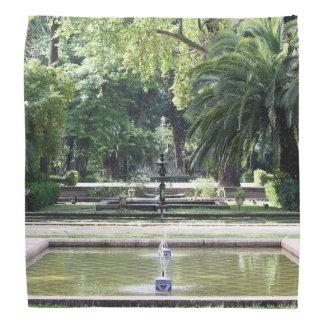 Fuente en Parque de María Luisa, Sevilla Bandanas
