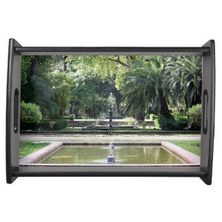 Fuente en Parque de María Luisa, Sevilla Bandejas
