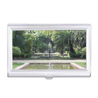 Fuente en Parque de María Luisa, Sevilla Caja De Tarjetas De Visita