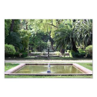Fuente en Parque de María Luisa, Sevilla Arte Con Fotos