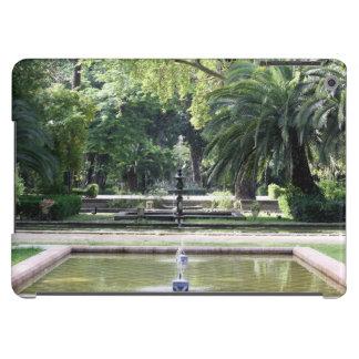 Fuente en Parque de María Luisa, Sevilla Funda Para iPad Air