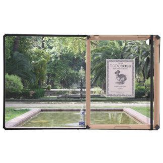 Fuente en Parque de María Luisa, Sevilla iPad Cárcasas
