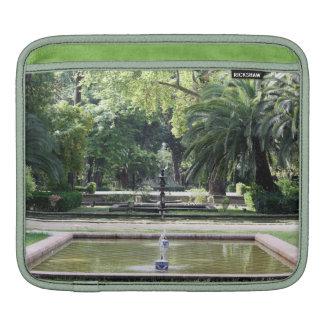 Fuente en Parque de María Luisa, Sevilla Funda Para iPads