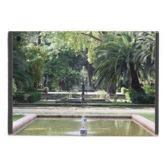 Fuente en Parque de María Luisa, Sevilla iPad Mini Funda