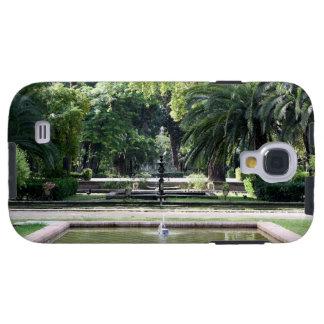 Fuente en Parque de María Luisa, Sevilla Funda Para Galaxy S4