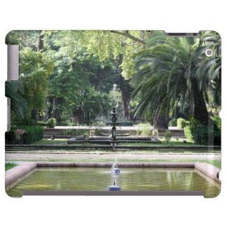 Fuente en Parque de María Luisa, Sevilla Funda Para iPad