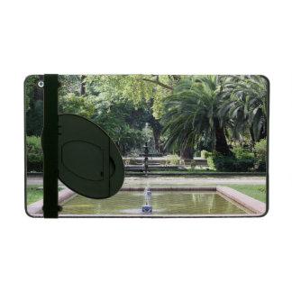 Fuente en Parque de María Luisa, Sevilla iPad Protector