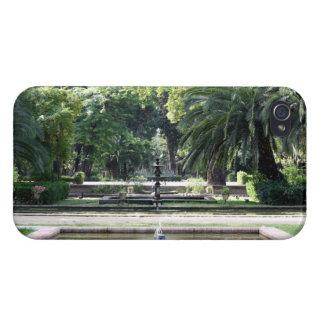 Fuente en Parque de María Luisa, Sevilla iPhone 4 Coberturas
