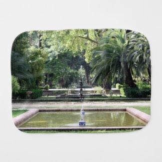 Fuente en Parque de María Luisa, Sevilla Paños Para Bebé