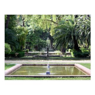 Fuente en Parque de María Luisa, Sevilla Postal